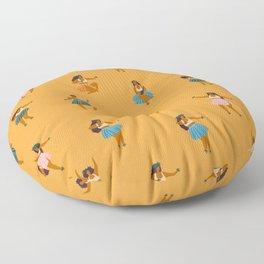 Hula party Floor Pillow