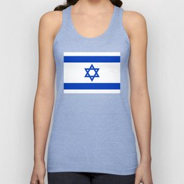 National flag of Israel Unisex Tank Top