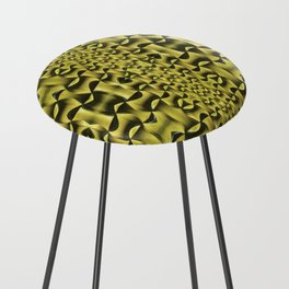 Yellow Haze Counter Stool