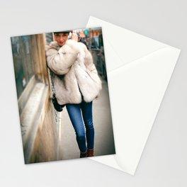 Parisian Mugshots - The Wink (Gueules de Parisiens) Stationery Cards