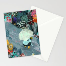 Rainworms Stationery Cards