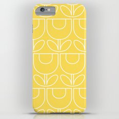 MCM Tulip Outline in Yellow Slim Case iPhone 6 Plus