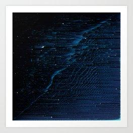 Cygnus Loop Nebula 2 Art Print