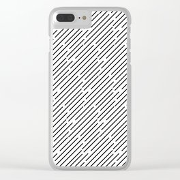 Geometric Delights 2 - Lines Clear iPhone Case