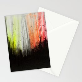 Trees in Neon Stationery Cards