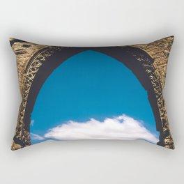 Castle Window Arch Rectangular Pillow