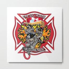 The Big House Metal Print