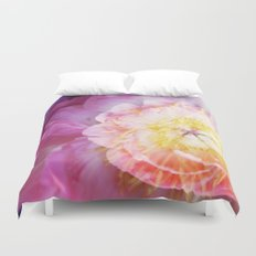 Peony Abstractions Duvet Cover