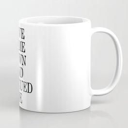 Love Rescued Me Coffee Mug