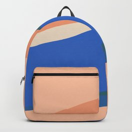 Peach Waves, but Extra Backpack