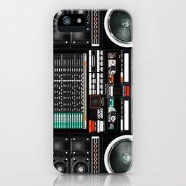 Boombox Ghetto J1 iPhone Case