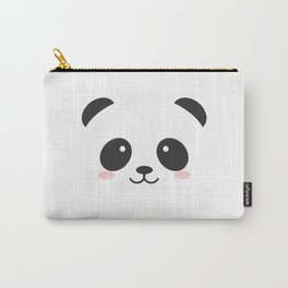 black and white panda Carry-All Pouch