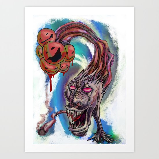 Nightmares Art Print