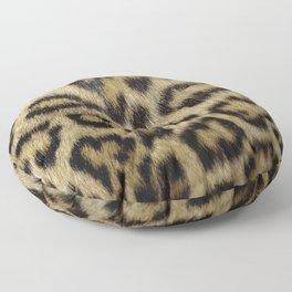 Leopard Fur Floor Pillow