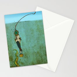 Nautical Grief  Stationery Cards