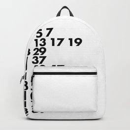 Prime Numbers Backpack