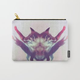 Foxy Salutations Carry-All Pouch
