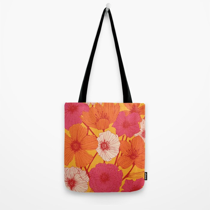 Summer Flowers Tote Bag