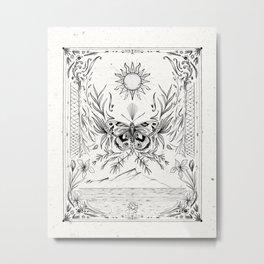 Moth Dream Metal Print