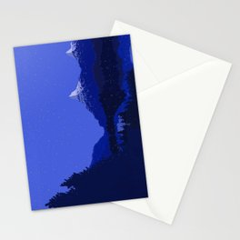 The Night Lake Stationery Cards