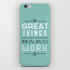 Great Things... iPhone & iPod Skin