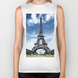 The Eiffel Tower Biker Tank