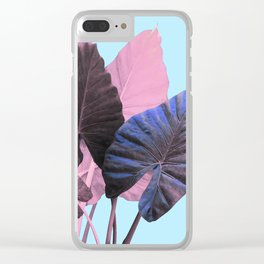 Candy Greenery Clear iPhone Case
