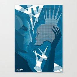 Hamlet and Yorick Canvas Print