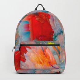 glitch eagle Backpack