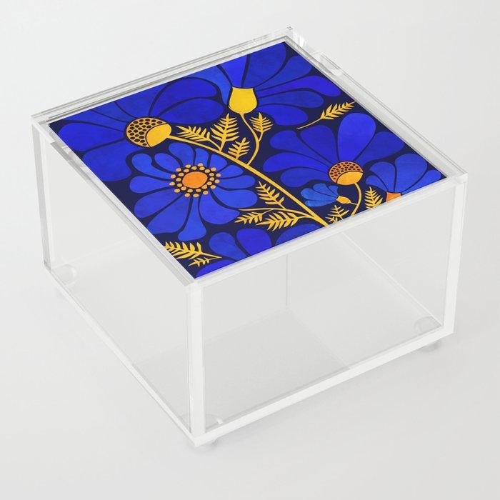 Wildflower Garden Acrylic Box