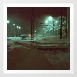 In hibernation Art Print