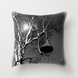 Mission Bell_California Throw Pillow