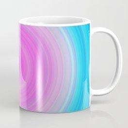 Ombre Pink Teal Circles Coffee Mug