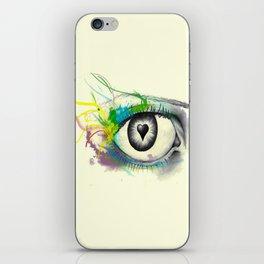 I heart U iPhone Skin
