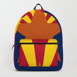Arizona flag Backpack