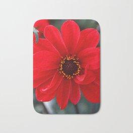 Red Red Dahlia Bath Mat