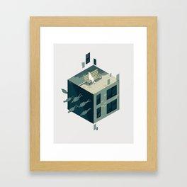 Cube 01 Framed Art Print