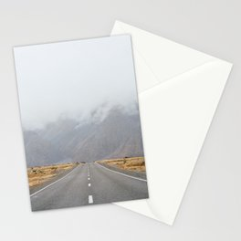 The Road To Mount Cook Stationery Cards