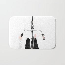 Bike ride Bath Mat