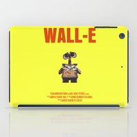 wall e iPad Cases featuring Wall-E by FunnyFaceArt