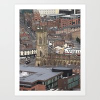 liverpool Art Prints featuring Liverpool by eams