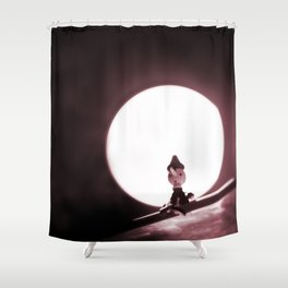 Scary Night Shower Curtain