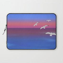 Where the ocean meets the sky Laptop Sleeve