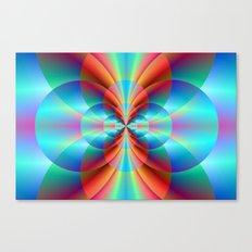 Circle Point Canvas Print