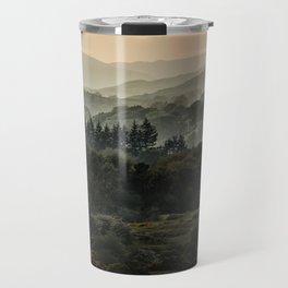 Foggy morning in Lake District Travel Mug