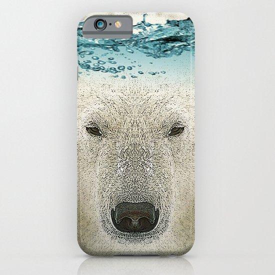 bear line iPhone & iPod Case