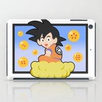 goku iPad Cases featuring Goku by CmOrigins