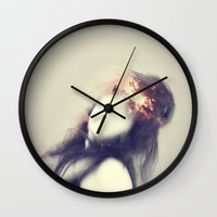 crown Wall Clocks featuring Crown by James McKenzie