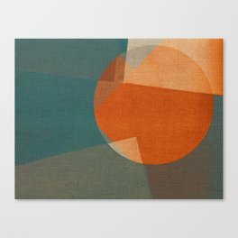 Rusty Sun Canvas Print