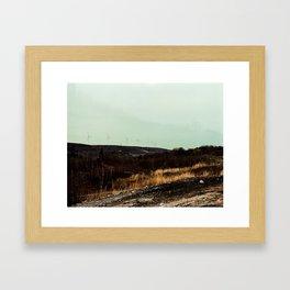 centralia 3 (wind) Framed Art Print